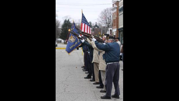 Pulaski County remembered area veterans during a ceremony on Veterans Day on Nov. 11.
