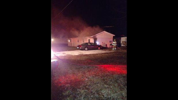 No one was home when Winamac Volunteer Firefighters responded to a fire on Feb. 3 at 6:18 a.m
