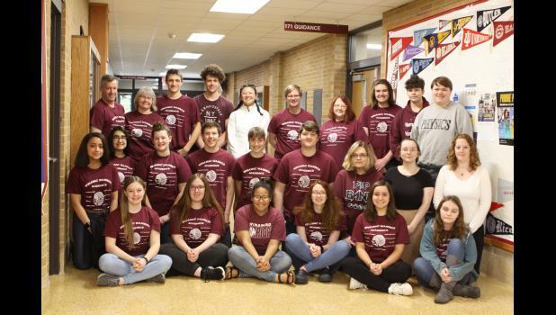 The Winamac Community High School Academic Super Bowl team.