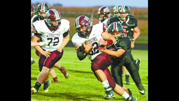 All night long, Ethan Rogers ran through and over the West Central defense.