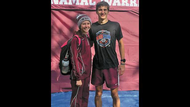 Following exceptional runs at the Culver Academy cross-country regional, Kate Collins and Ryan Huggler will represent Winamac at the New Prairie semi state Saturday.