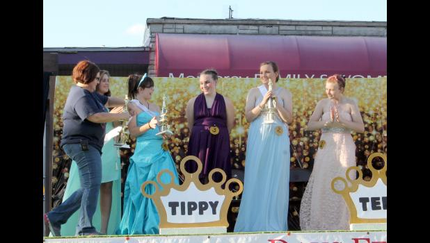 Monterey history was made when the winners of the first Miss Tippy Teen pageant were announced. Miss Tippy Teen of 2016 was Grace Fleury (contestant #2), who was also named Miss Congeniality. First-runner-up was Olivia Gilley (contestant #3) and Emily Fisher was named second-runner-up (contestant #4). Contestant #1 was Carmen Cook and contestant #5 was Jane Wright.