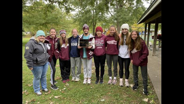 With a dominating performance, the Winamac Lady Warrior cross-country team won the 2020 Hoosier North Athletic Conference championship.