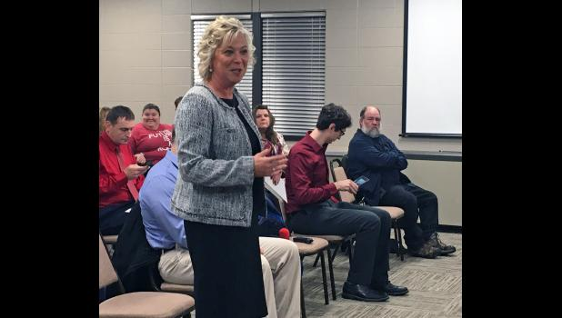 Eastern Pulaski Community School Board members hired Dara Chezem as the new superintendent Monday evening.