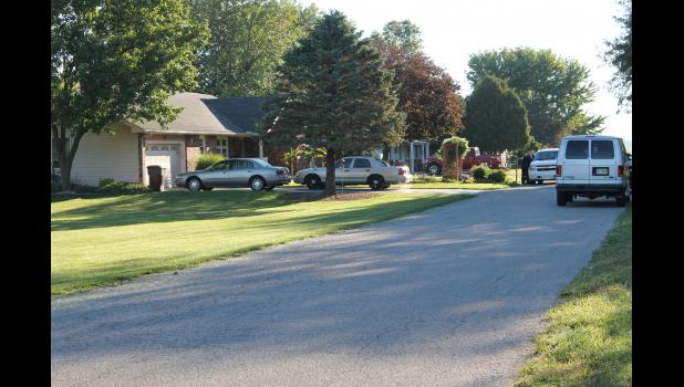 A search warrant was executed on Gayer's home in Francesville on Sept. 22, 2015.