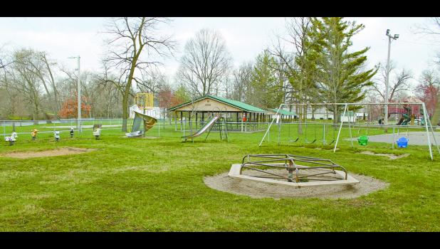 Winamac Parks and Recreation Board members recently held a public meeting as they are applying for a grant to help fund the replacement of the bathrooms and toddler playground equipment.