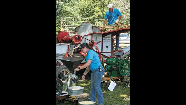 File Photo During each show various demonstrations will draw large crowds such as it did during the 42nd annual Northern Indiana Power From the Past.