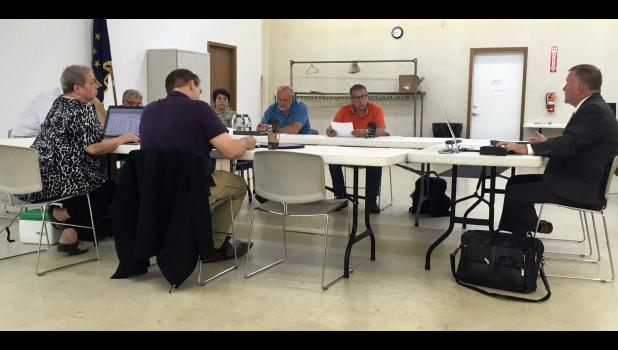 On Monday, Pulaski County Council members listened to Jeff Peters, of Peters Municipal Consultants, regarding the 2020 budget before they started two days of budget hearings with county department heads.