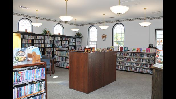 Renovations at the Monterey-Tippecanoe Public Library have made the space a little brighter and more energy efficient.