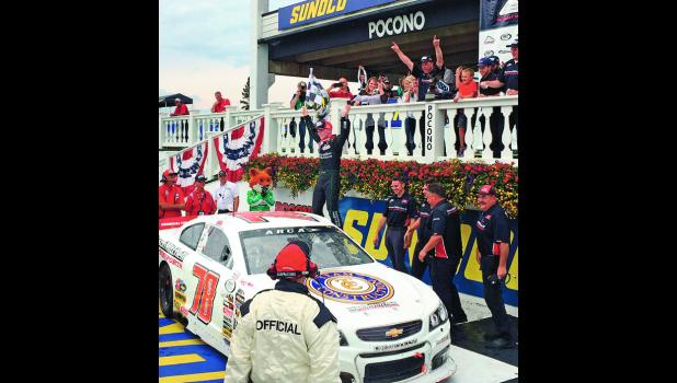 Friday turned out to be a good day for Justin Haley who took the win at the ARCA ModSpace 150 at Pocono Speedway.