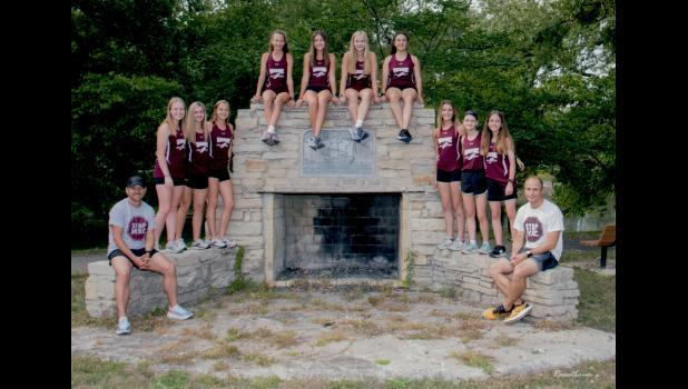 The Winamac Lady Warriors cross-country team advanced to the regional round after winning the Logansport sectional Saturday morning.