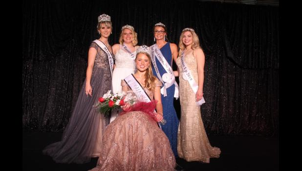 Jillian Brumm was crowned the 2019 Miss Pulaski County Sunday evening. 2018 Miss Pulaski County Rachel Ploss congratulated her and the court of first runner-up Danni-Jo Rausch, second runner-up, Miss Congeniality and the People's Choice Allison Keller and third runner-up Maddison Budka.