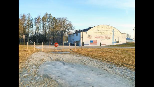 Medaryville Council members explained why there are posts separating the town property from the American Legion during a meeting on Feb. 20. The Legion would like for a gate to be installed so access can be open during the winter.
