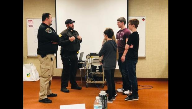 The Pulaski County Sheriff's Department recently hosted the Policing the Teen Brain training on Dec. 12-13. Officers, probation department officers, correctional officers, students and more were part of the training.