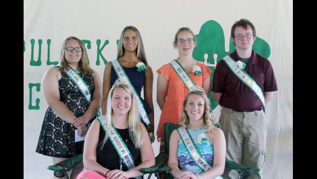 Two queens will rule the 2016 4-H fair as Peyton Newman and Regan Culp were named the 2016 Royalty. Andriana Smith, Rachel Ploss, Kassi Dahn and Jacob Conner will rule as the court.