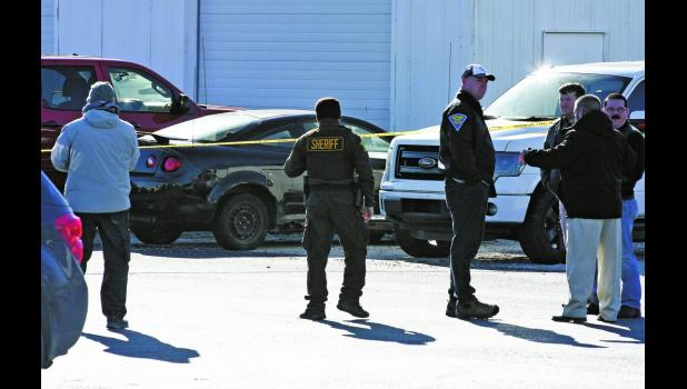 Police descended on a local Winamac business as they found the missing Knox woman and her vehicle on Friday.
