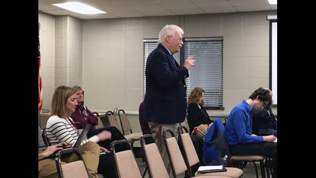 The Eastern Pulaski Community School Corporation welcomed interim high school principal Michael Kelley during a regular meeting Monday evening.