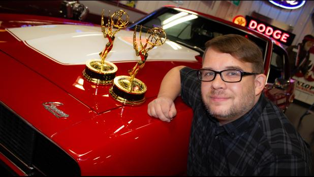 "Winamac Community High School alumni David Bonnell is the proud owner of two Emmys that he earned while working with ""The American Dream Car Show"" host Jason Moore and filmmaker/director Jakob Bilinski."