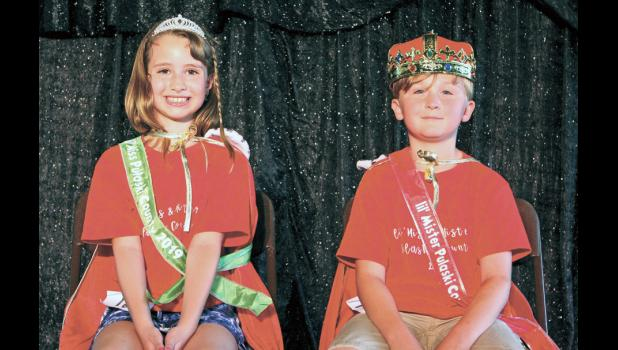Little smiles, big crowns Winners of the 2019 Pulaski County Lil' Miss and Mister Pageant are Jordan Compton and Kaden Hines.
