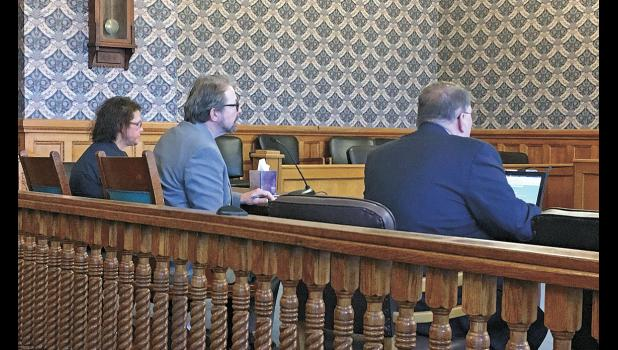 Former Tippecanoe Township Trustee Kathleen Keller faced a sentencing hearing with her attorney Danny Saiz on March 22. Pulaski County Prosecuting Attorney Daniel Murphy represented the State.