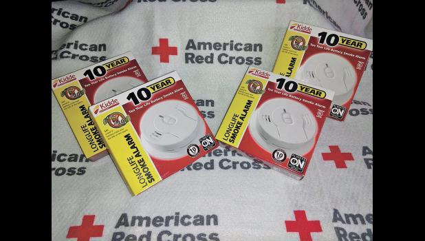 Volunteers will be working with the American Red Cross to install smoke detectors on Saturday, Jan. 19.