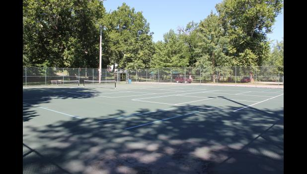 The main Winamac park will continue to have a tennis court after discussion with the community.