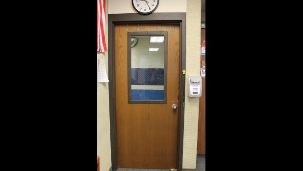 Doors that are more than 40 years will soon be replaced at the West Central Elementary School through a local match and the Secured School Safety Grant program.