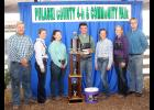 Ethan Shannon earned the title of ultimate showman on July 4. Shannon was one of several champion showman including Ethan Leman, Emma Nielsen, Elizabeth Button, Sydney Anderson, Tori Culp and Ryan Lynch.