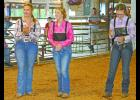 (Center) Regan Culp was pleasantly surprised and honored that she was named the 2017 Ultimate Livestock Showman.