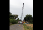 Bridge 257 on CR 400 E. is well underway and on schedule. The project could be completed by the end of the month.