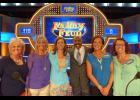 The Hopkins sisters, youngest to oldest, Tammy Huskins, Laura Cosgray, Deb Bosak, Connie Ingram and Karen Scheffer had a once-in-a-lifetime adventure as they were Family Feud contestants who met game show host Steve Harvey. The show airs on Feb. 1.